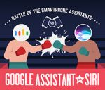 Siri v/s Google Assistant [Infographic] – Battle of the Best Smartphone AIs